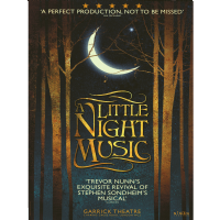A Little Night Music Garrick Theatre Poster